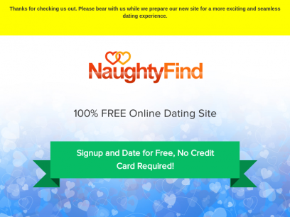 100 credit card free dating sites