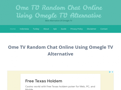 Pl ome chat Omegle free