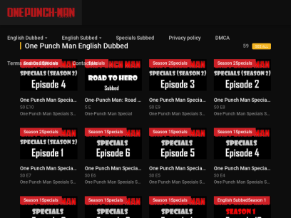 Animeultima io watch one punch man english subbed dubbed online