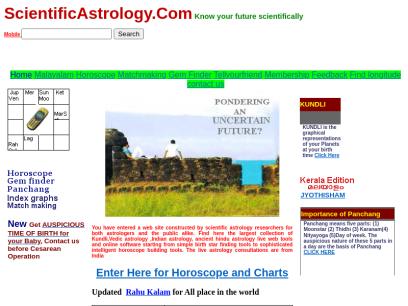 Scientific astrology tamil