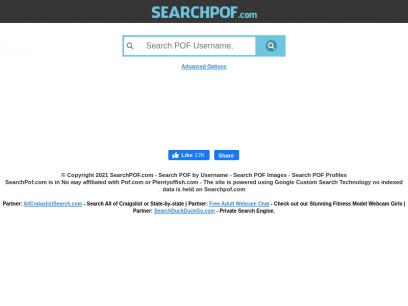 Pof username search