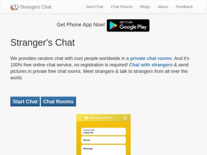 Chat camzap aleatorio con desconocidos