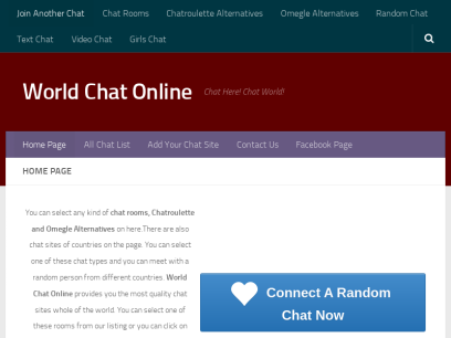 World chat sites