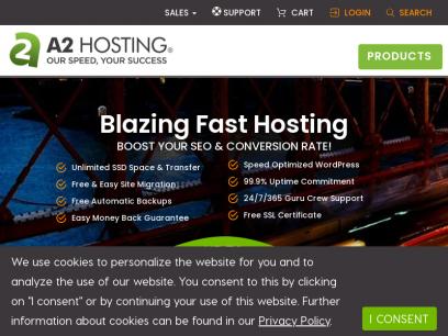 Hosting Website | 20X FASTER Web Hosting | WordPress Hosting