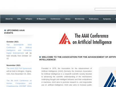 Association for the Advancement of Artificial Intelligence