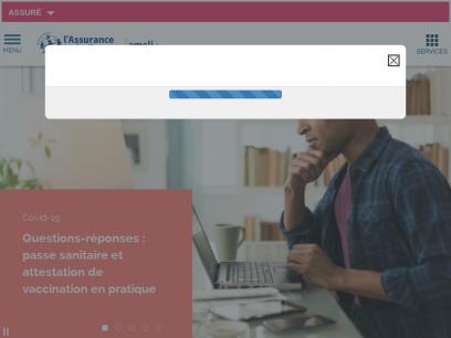 ameli, le site de l'Assurance Maladie en ligne   ameli.fr   Assuré