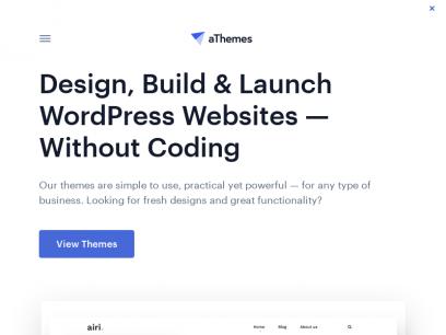 aThemes - Awesome WordPress Themes