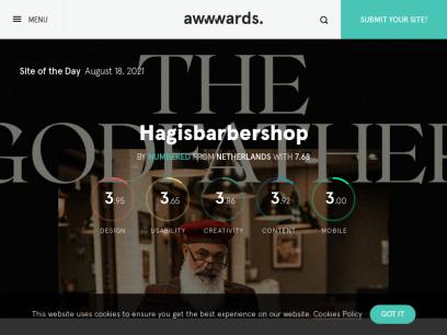 Awwwards - Website Awards - Best Web Design Trends