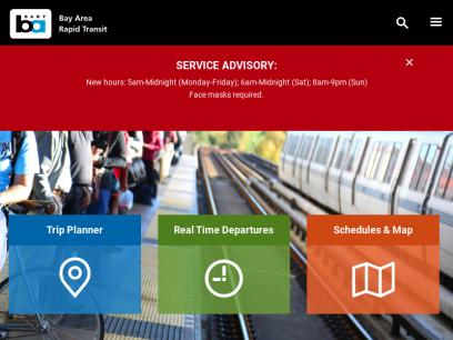 bart.gov   Bay Area Rapid Transit