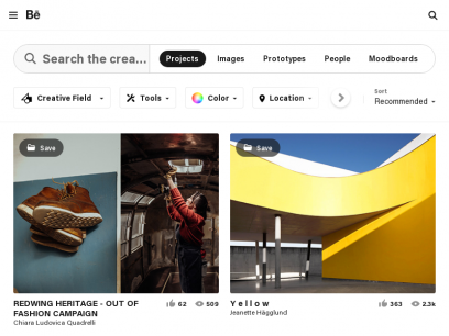 Search projects | Photos, videos, logos, illustrations and branding on Behance