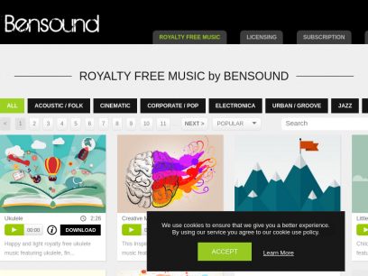 Royalty Free Music by Bensound   Stock Music
