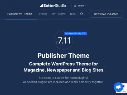 Publisher WP Theme - BetterStudio