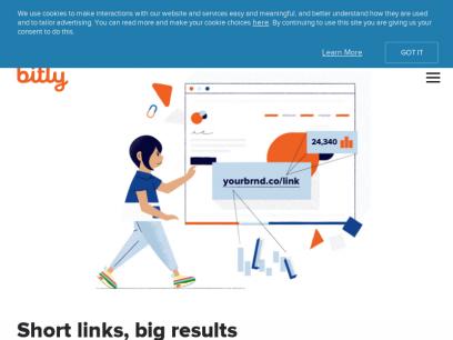 URL Shortener - Short URLs & Custom Free Link Shortener | Bitly