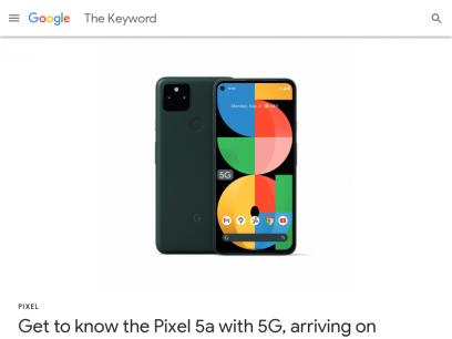 The Keyword | Google