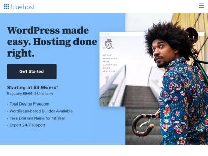 Best Web Hosting 2021 - Domains - WordPress - Bluehost
