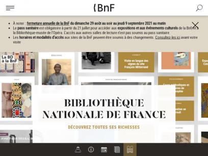 En ce moment   BnF - Site institutionnel