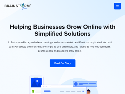 Brainstorm Force – Solutions to Skyrocket Your Business Online