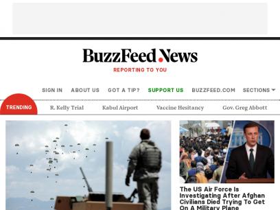 BuzzFeed News | Breaking News | Original Reporting | News Analysis