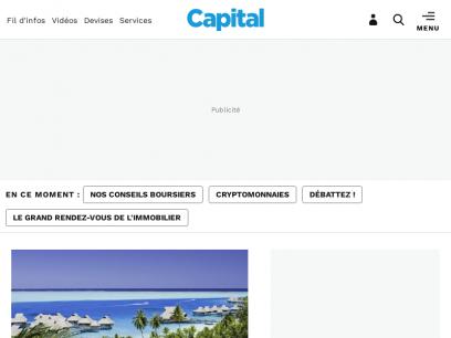 Capital - Actualités économiques, bourse & finance