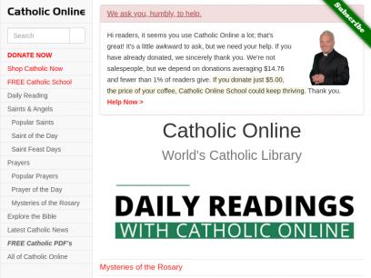 Catholic Online - World's Catholic Library