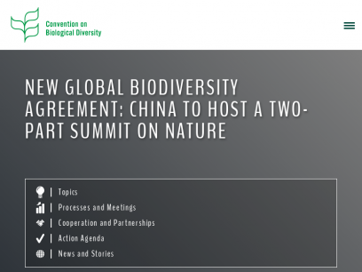 Home   Convention on Biological Diversity