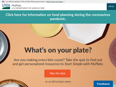 MyPlate | U.S. Department of Agriculture