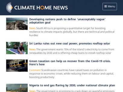 Climate Home News