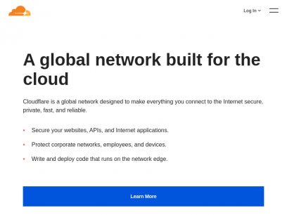 Cloudflare - The Web Performance & Security Company | Cloudflare