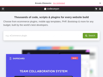 Buy Plugins & Code from CodeCanyon