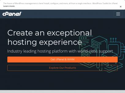 Sites like cpanel.net &         Alternatives