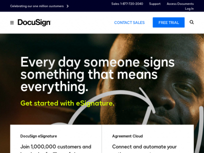 DocuSign | #1 in Electronic Signature and Agreement Cloud