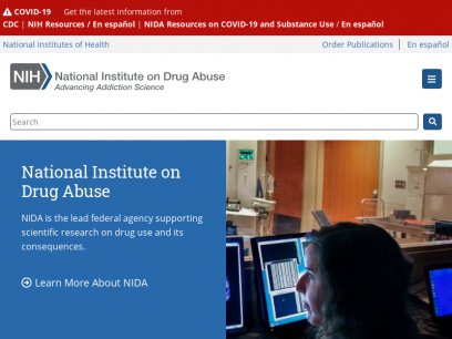 Sites like drugabuse.gov &         Alternatives