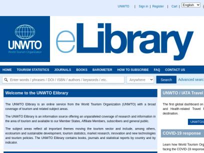 Sites like e-unwto.org &         Alternatives