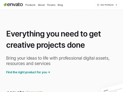 Envato - Top digital assets and services
