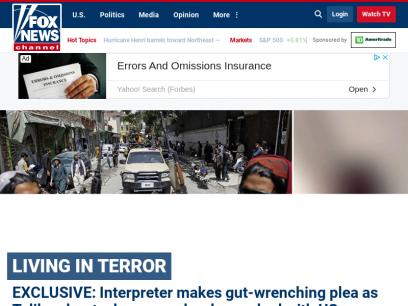 Fox News - Breaking News Updates | Latest News Headlines | Photos & News Videos