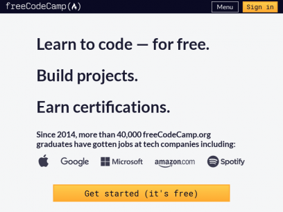Learn to Code — For Free — Coding Courses for Busy People