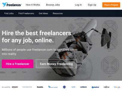 Hire Freelancers & Find Freelance Jobs Online   Freelancer