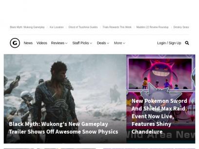 Video Games Reviews & News - GameSpot