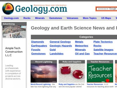 Geology and Earth Science News, Articles, Photos, Maps and More