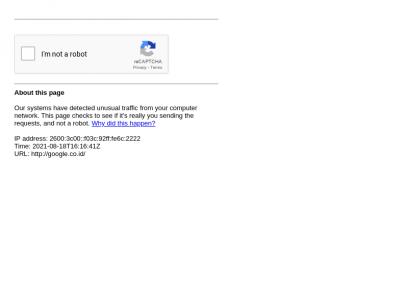 Sites like google.co.id &         Alternatives