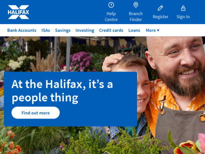 Halifax UK | Bank Accounts, Savings, Loans & Mortgages