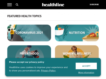 Healthline: Medical information and health advice you can trust.