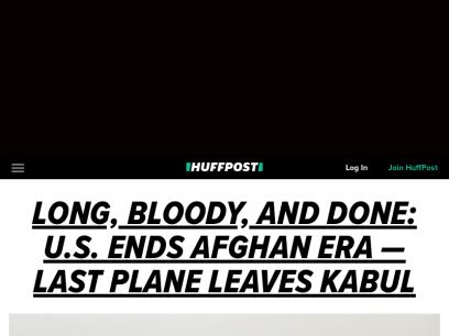 HuffPost - Breaking News, U.S. and World News | HuffPost