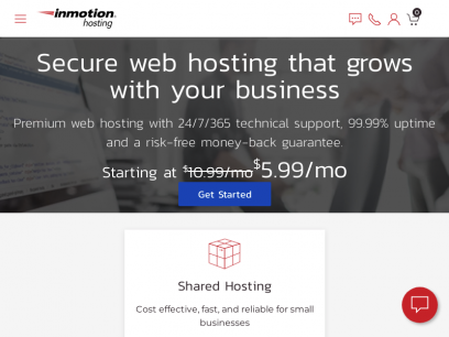 Web Hosting: Secure, Fast, & Reliable | InMotion Hosting