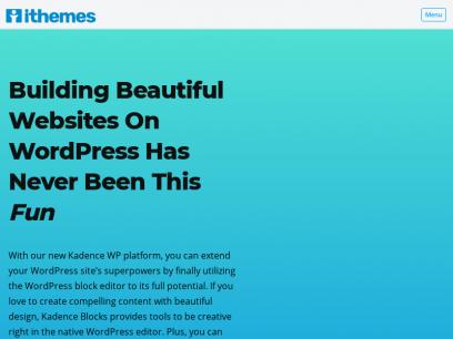 iThemes: Essential WordPress Tools & Training Since 2008