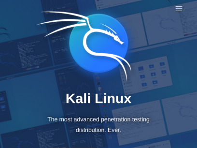 Kali Linux | Penetration Testing and Ethical Hacking Linux Distribution