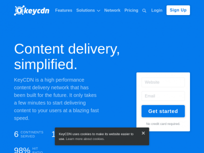 KeyCDN - Content delivery made easy