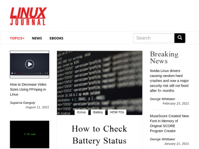 Home | Linux Journal
