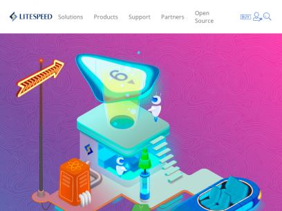 LiteSpeed   Internet. Accelerated. - LiteSpeed Technologies