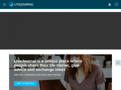 LiveJournal: Discover global communities of bloggers who share your unique passions and interests.